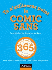 Tu n'utiliseras point le Comic Sans