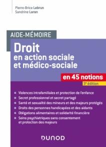 Aide-mémoire - Droit en action sociale et médico-sociale