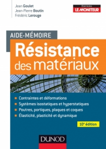 Aide-mémoire - Résistance des matériaux