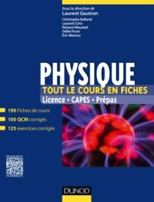 Physique - Tout le cours en fiches