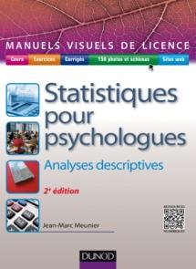 Manuel visuel de statistiques pour psychologues
