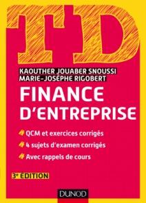 TD de finance d'entreprise
