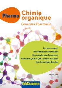 PHARMA Chimie organique - Concours Pharmacie
