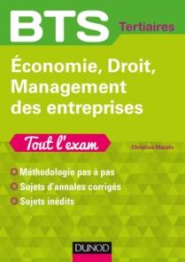 Economie, Droit, Management des entreprises Tout l'exam