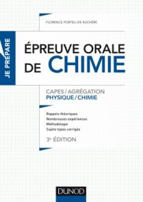 L'épreuve orale de chimie