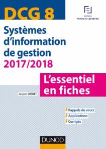 DCG 8 - Systèmes d'information de gestion 2017/2018