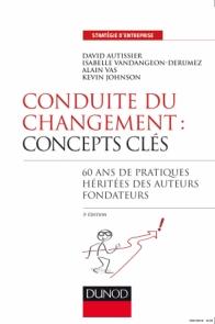 Conduite du changement : concepts-clés