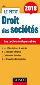 Le Petit Droit des sociétés 2018