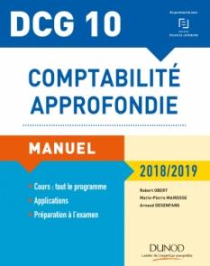 DCG 10 - Comptabilité approfondie