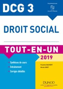 DCG 3 - Droit social 2019