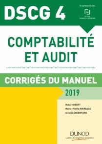 DSCG 4 - Comptabilité et audit - 2019