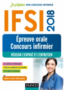IFSI 2018 - Epreuve orale concours infirmier