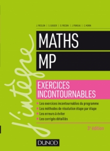Maths MP - Exercices incontournables