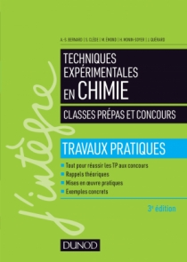 Techniques expérimentales en chimie - Classes prépas et concours