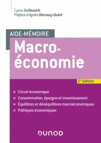 Aide-mémoire - Macroéconomie