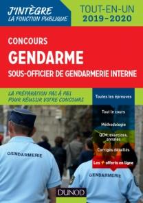 Concours gendarme sous-officier de gendarmerie interne