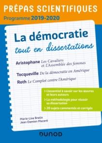 La démocratie tout en dissertations - Prépas scientifiques - Programme 2019-2020