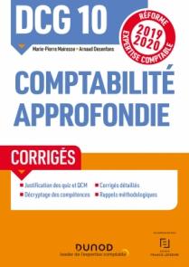DCG 10 Comptabilité approfondie - Corrigés