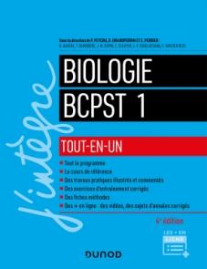 Biologie tout-en-un BCPST 1re année