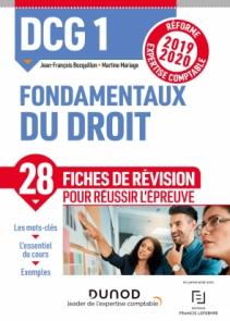 DCG 1 Fondamentaux du droit - Fiches de révision