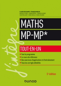 Maths MP-MP* - Tout-en-un