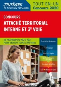 Concours Attaché territorial Interne et 3e voie