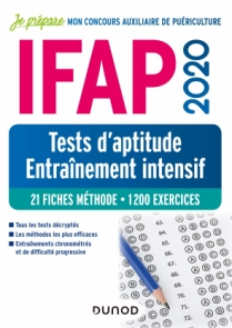 IFAP 2020 Tests d'aptitude - Entraînement intensif