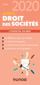 Le Petit Droit des sociétés 2020