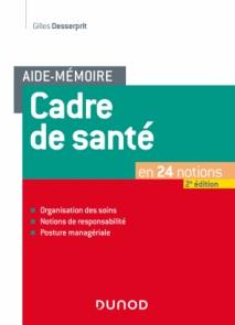 Aide-mémoire - Cadre de santé