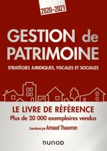 Gestion de patrimoine - 2020-2021