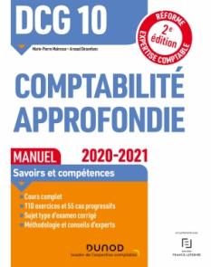DCG 10 Comptabilité approfondie - Manuel