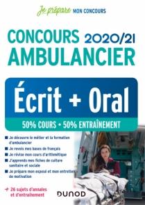 Concours Ambulancier 2020/21