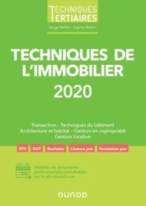 Techniques de l'immobilier 2020