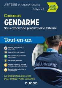 Concours Gendarme - Sous-officier de gendarmerie externe - 2020/2021