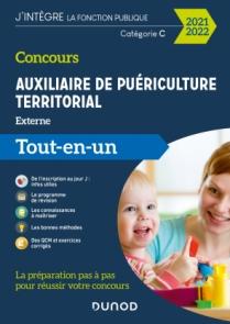 Concours Auxiliaire de puériculture territorial 2021-2022