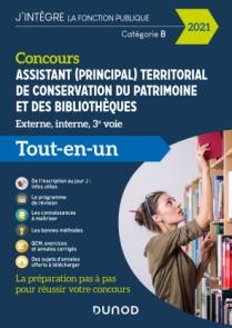 Concours Assistant territorial de conservation du patrimoine et des bibliothèques