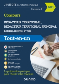 Concours Rédacteur territorial - 2021