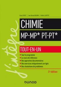 Chimie tout-en-un MP/MP*-PT:PT*