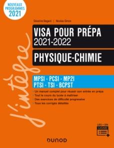 Physique-Chimie - Visa pour la prépa 2021-2022