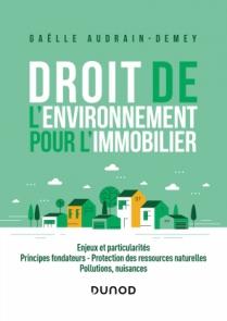 Droit de l'environnement pour l'immobilier