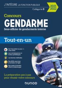 Concours Sous-officier de gendarmerie interne - 2021-2022