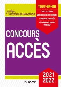 Concours Accès 2021-2022