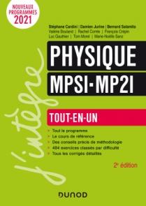 Physique tout-en-un MPSI MP2I 2021