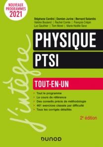 Physique tout-en-un PTSI - 2021