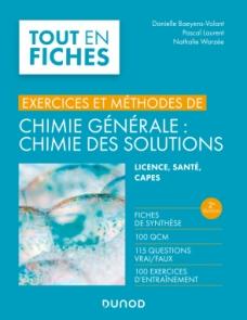Chimie générale : chimie des solutions