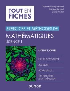 Mathématiques Licence 1