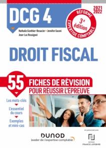 DCG 4 Droit fiscal - Fiches de révision - 2021-2022