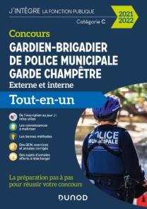 Concours Gardien-brigadier de police municipale - Garde champêtre