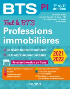 Tout le BTS Professions immobilières - 2021-2022