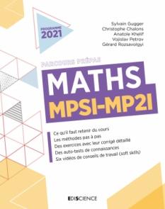 Maths MPSI-MP2I